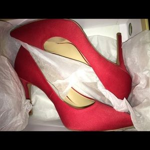 Micheal Koran's Claire Red Pump